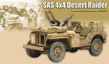 1/6 Dragon SAS 4x4 Desert Raider - Jeep LRDG Long Range Desert Patrol 8e Armée