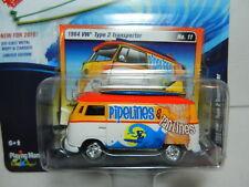 1964 VW TYPE 2 ORANGE SURF RODS JOHNNY LIGHTNING STREET FREAKS DIECAST 1:64 JL