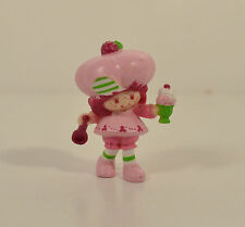 "1981 Vintage Raspberry Tart 2"" PVC Plastic Action Figure Strawberry Shortcake"