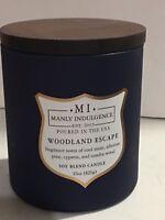 Manly Indulgence Woodland Escape 15 oz Soy Blend Candle
