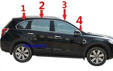 8PC steel TOP Window Molding trim line Chrome Chevy Captiva 2007-2015 2012 2013