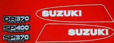 SUZUKI SP370 SP400 DR400 MODEL TANK AND SIDE PANELS FULL PAINTWORK DECAL KIT