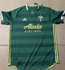 Adidas Alaska Airlines Green Jersey MLS- NWT- Mens Size Large