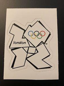 "2012 Summer Olympic Games London England Sticker 2.7"" x 3.1"""