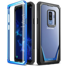 Samsung Galaxy S9 Plus poética Cubierta Resistente a Prueba de Choques TPU Cubierta [Guardian] azul