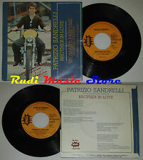 LP 45 7'' PATRIZIO SANDRELLI Brother in love Woman's 1976 italy SMASH cd mc dvd