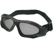 Airsoft Mesh Goggles Black