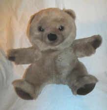 "Dex Products Heartbeat Mommy Baby Crib Bear 13"" Plush Soft Toy Stuffed Animal"
