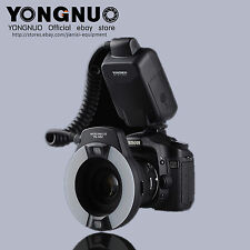 YONGNUO YN-14EX Macro Ring Flash Light + 4 x Adapter Rings 52/58/67/72 for canon