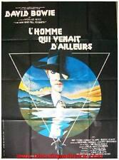 L'HOMME QUI VENAIT D'AILLEURS Affiche Cinéma Originale Movie Poster DAVID BOWIE