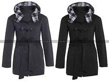 Unbranded Zip Knee Length Cotton Coats & Jackets for Women