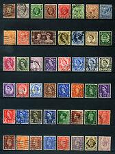 47 Briefmarken England - Großbritannien Kolonien u.a. - fast alle gestempelt