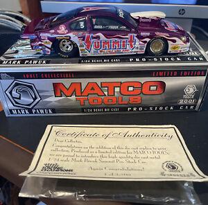 Racing Champions NHRA1/24 Scale Summit Racing 2001 Grand AM Pro Stock MARK PAWUK