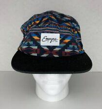 Empyre Flat Brim Adjustable Dad Hat Multicolor Skate Streetwear