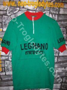 Vintage Cycling Jersey Wool Maglia Ciclismo Bici Lana Legnano Pirelli'60s Eroica