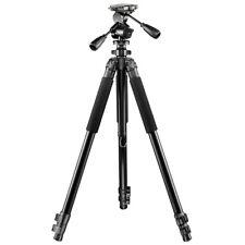 walimex pro FT-665T Profi-Dreibeinstativ 185cm + Aluminium Pro-3D-Neiger