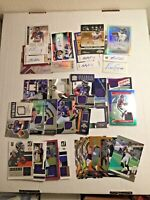 Football Huge Lot 100 Cards Rookies, Stars, HoF, + SP, #'d, Auto, Jersey 8+ HITS