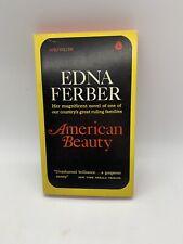 New listing American Beauty Edna Ferber 1967 Vintage Avon Pb Book Politics Novel