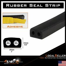 "180"" Front Rail Seal EPDM Rubber Stip For Camper RV Truck Shell Topper Cap"