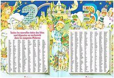 Coupure de presse Clipping 1971 (4 pages) Calendrier Prenoms Saints  Materna