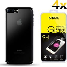 4x KS [Only Back Glass] For Apple iPhone 7 Plus Tempered Glass Screen Protector