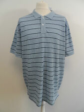 Unbranded Striped Collared Polo Casual Shirts & Tops for Men