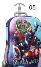 Bag Spider-man Luggage 3D Suitcase Trolley Cabin Children Hand Travel