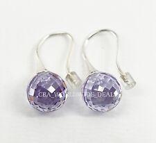 NEW Authentic PANDORA Lavender Morning Dew CZ Earrings 290552LCZ