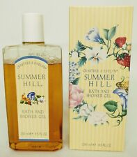 Crabtree & Evelyn SUMMER HILL Bath & Shower Gel  8.5 Fl Oz In Box 90% Full USA