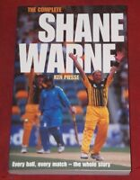 THE COMPLETE SHANE WARNE ~ Ken Piesse ~ EVERY BALL, EVERY MATCH, THE WHOLE STORY