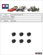 Mini 4wd CARBON REINFORCED 8T PINION GEAR (6PCS.) Tamiya 15453 New Nuovo