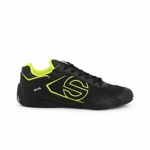 Sparco SP-F5 Black Shoes Sneakers in Leather