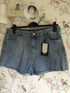 Bnwt Size 16 PLT Denim Shorts