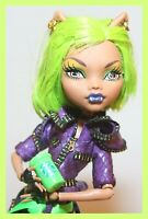 ❤️Monster High Clawdeen Wolf Dawn of the Dance Werewolf Doll with Outfit Shoes❤️