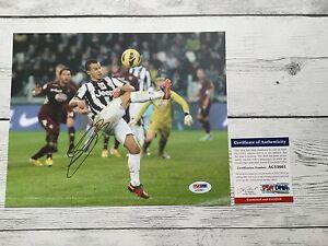 Sebastian Giovinco Signed Juventus 8x10 Photo PSA/DNA COA Autographed b