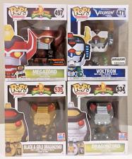New ListingLot Funko Pop Television Animation Power Rangers Voltron Megazord Dragonzord