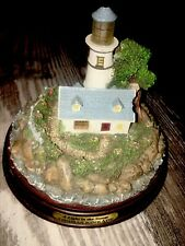 Thomas Kinkade A Light In The Storm Lighthouse Lighted Used