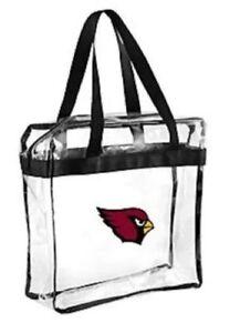 Arizona Cardinals CLEAR Messenger Tote Bag Purse - Meets Stadium Security Reqs