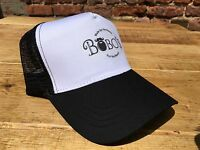 Bobos Beard Company Navy Trucker Baseball Cap Hat Baseball