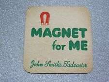 Magnet for Me - John Smith's Tadcaster Beer Mat 1970's
