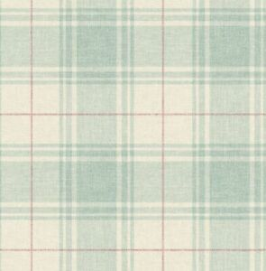 Jaipur Plaid Wallpaper in Sprout RN71104 from Wallquest
