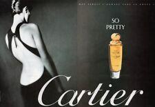 Publicité papier - advertisig paper - So Pretty de Cartier 2 pages