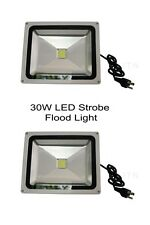 10x 30W Strobe Light LED Flood light, Sound activated, club, DJ, disco, ktv,Xmas