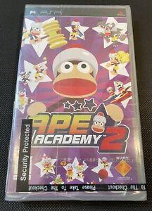 Ape Academy 2 PSP UMD PlayStation Game Brand New Factory Sealed