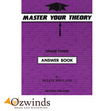 Master Your Theory Grade 3 Answer Book