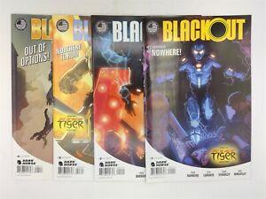 BlackOut #1-4 (of 4) Dark Horse Comics 2014 Complete Set