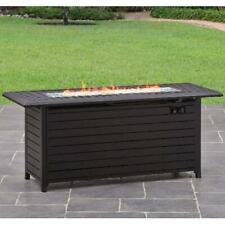 """Gas Fire Pit Smokeless Firepit Outdoor Patio Heater Garden Backyard 57"""" Burner"""