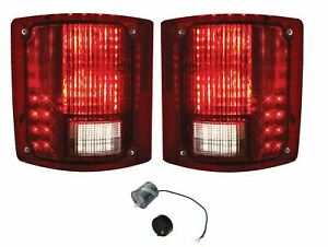 United Pacific Sequential LED Tail Lamp Set 1973-1987 Chevrolet GMC Truck