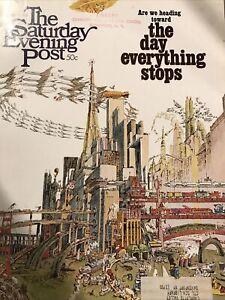 DECEMBER 1968 SATURDAY EVENING POST MAGAZINE DAY EVERYTHING STOPS TRANSPORTA