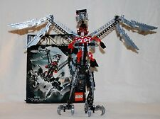 Lego Bionicle Warriors Turaga Dume and Nivawk (8621) Complete w/Manual